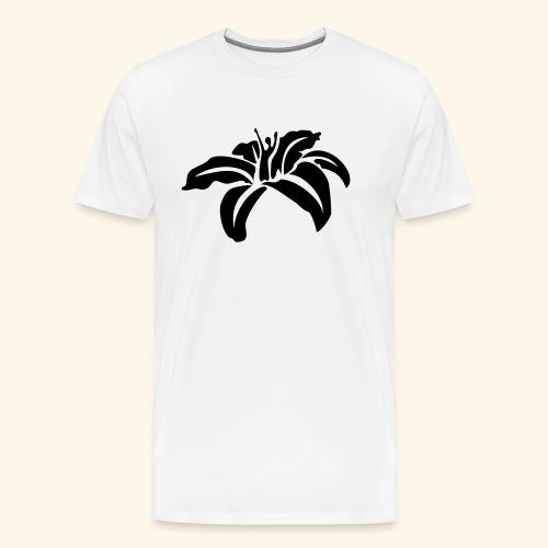 Blüte klein - Männer Premium T-Shirt