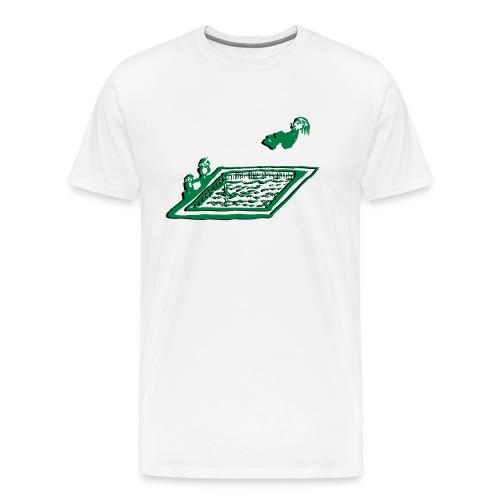 Arschbombe - Männer Premium T-Shirt