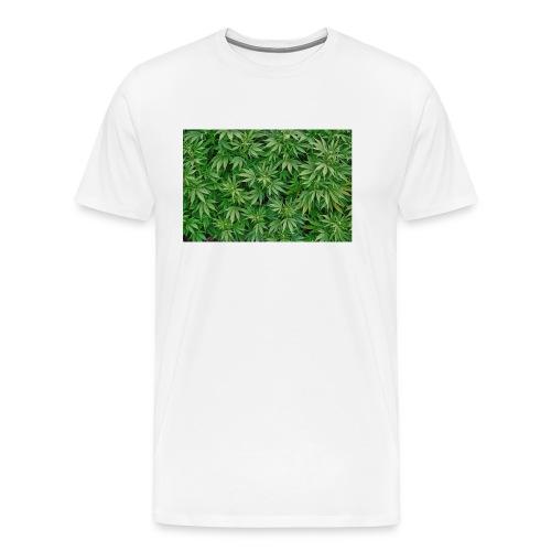 cannabis jpg - Männer Premium T-Shirt