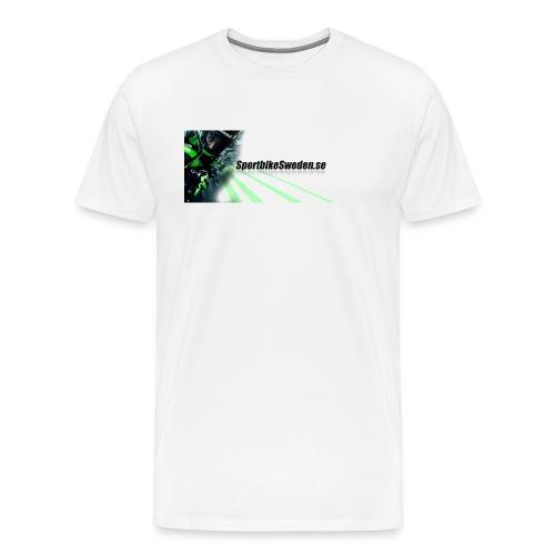 iPhone 6/6s skal med greppvänlig kant - Premium-T-shirt herr