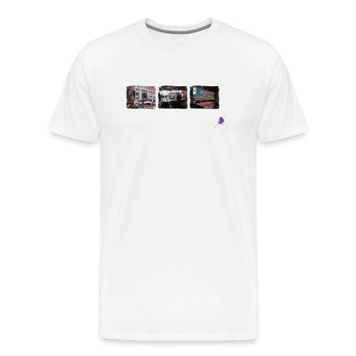 new york color ohne kontu - Mannen Premium T-shirt