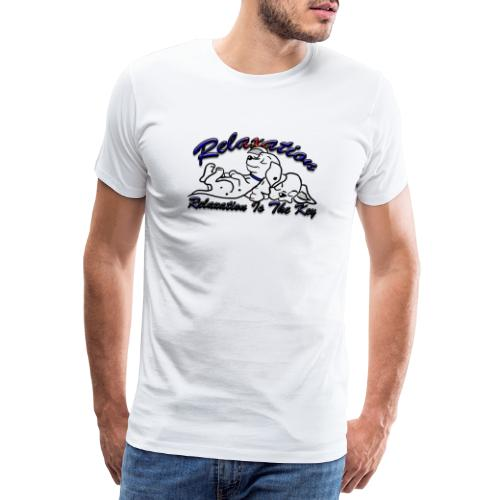Relaxation Is The Key - Men's Premium T-Shirt