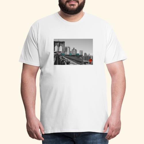 Brooklyn bridge - Maglietta Premium da uomo