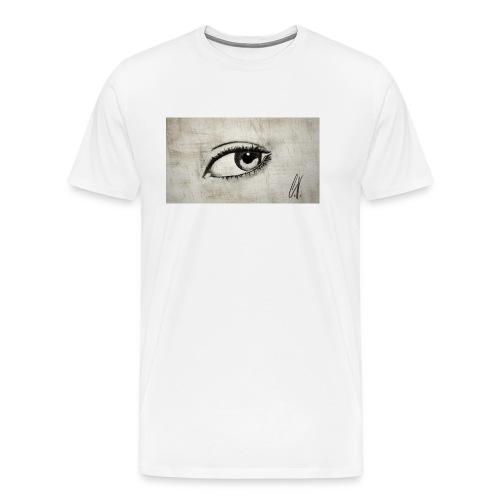 Drawn Eye - Männer Premium T-Shirt