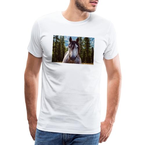 Nature Horse by #CreativeArts - Männer Premium T-Shirt