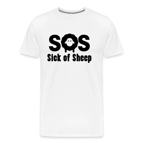 SOS - Men's Premium T-Shirt