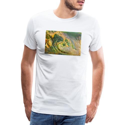 Qbist Wave - T-shirt Premium Homme