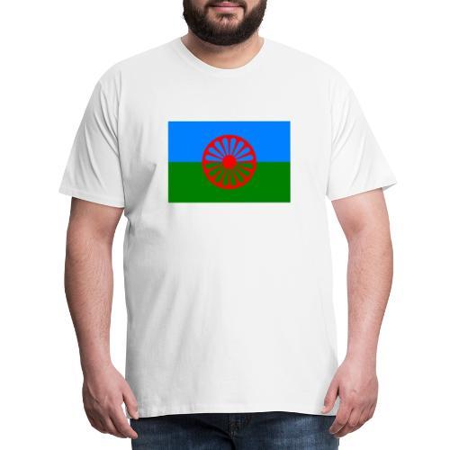 Flag of the Romani people - Premium-T-shirt herr