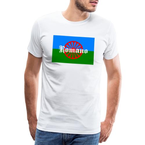 Flag of the Romanilenny people svg - Premium-T-shirt herr