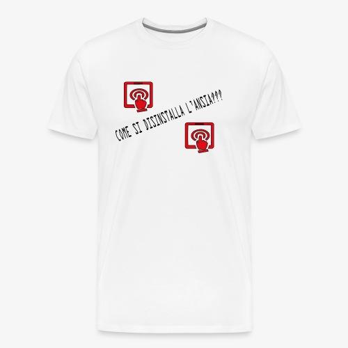 Ansia - Maglietta Premium da uomo