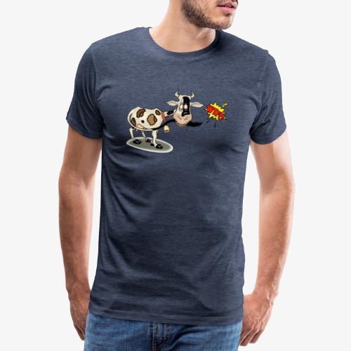 Vaquita - Camiseta premium hombre