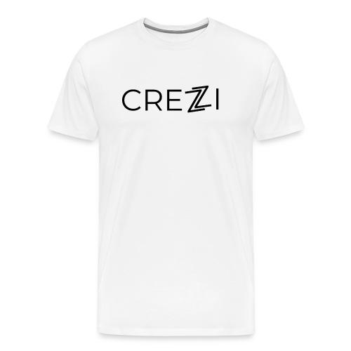 Crezzi Text Logo - Miesten premium t-paita
