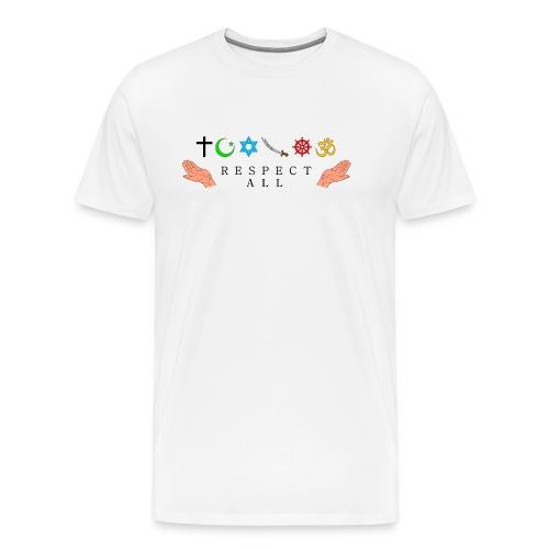 Respect All - Männer Premium T-Shirt