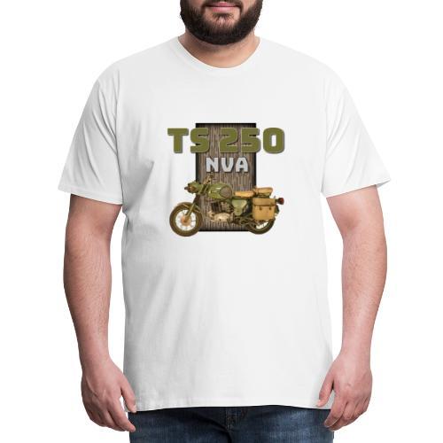 TS 250 NVA DDR Motorrad - Männer Premium T-Shirt