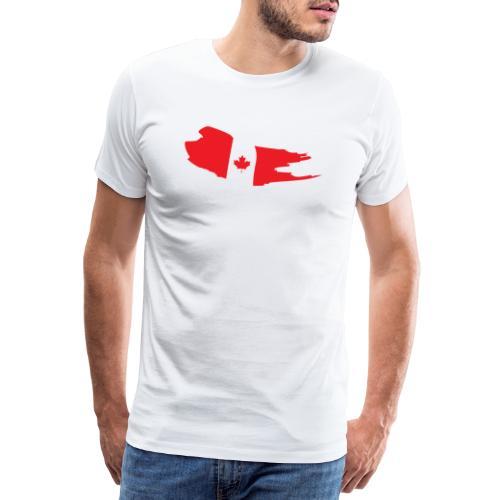 Canada Flag - Camiseta premium hombre