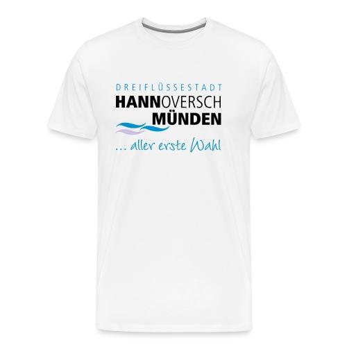Hann. Münden Logo - Männer Premium T-Shirt