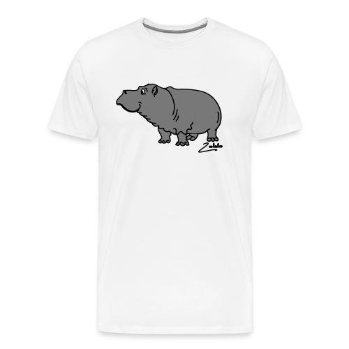 Hippo - Männer Premium T-Shirt