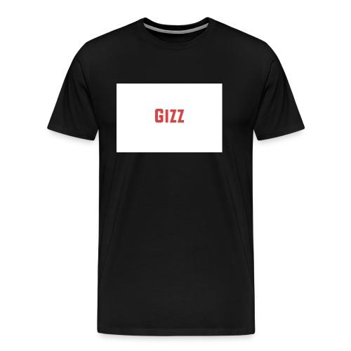 Gizz rood - Mannen Premium T-shirt