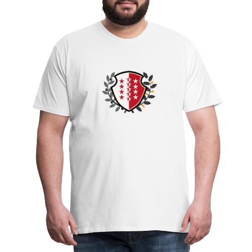 Valais - Wallis 1815 - Männer Premium T-Shirt