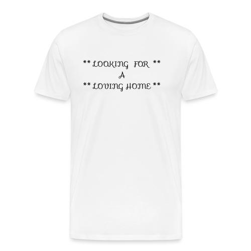 Loving home - Miesten premium t-paita