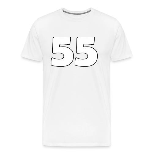 55 - Miesten premium t-paita