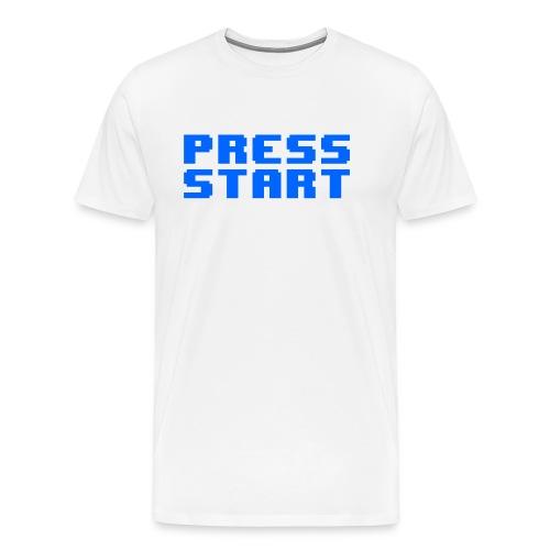 Press Start - Maglietta Premium da uomo