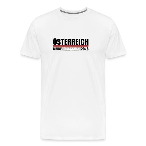 Austria_Design_Mannschaft - Männer Premium T-Shirt