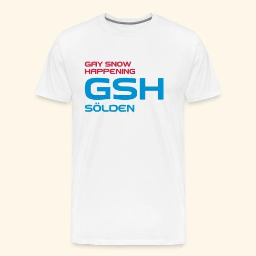 GSH_Logo_vector_hoch - Männer Premium T-Shirt
