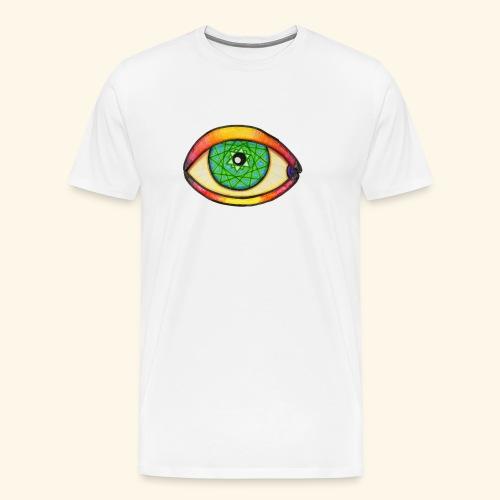 Oeil étoile 2 - T-shirt Premium Homme