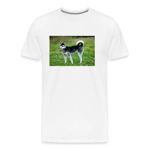 Mein Hund - Männer Premium T-Shirt