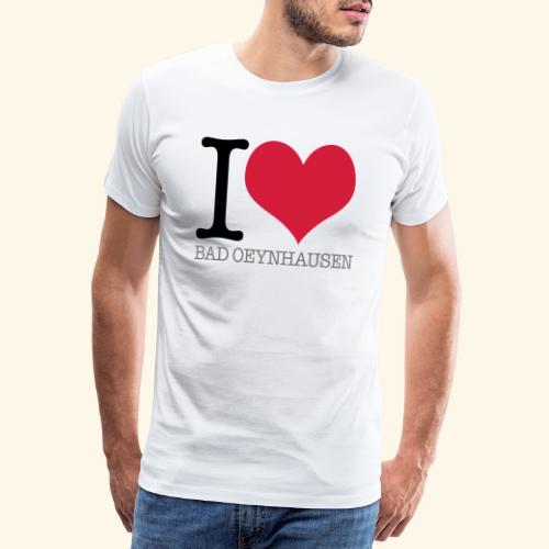 Love is in the Kurstadt - Männer Premium T-Shirt