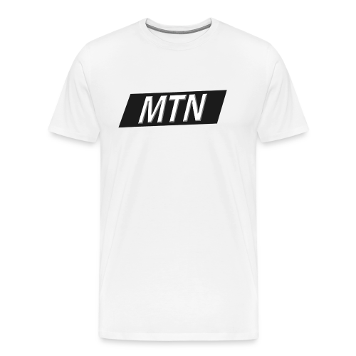 MTN BoxLogo T-shirt herre - Men's Premium T-Shirt