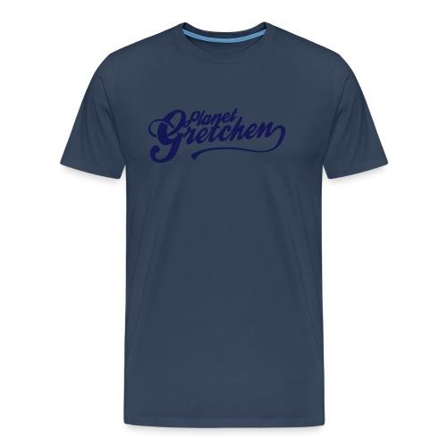 Planet Gretchen svart - Premium-T-shirt herr
