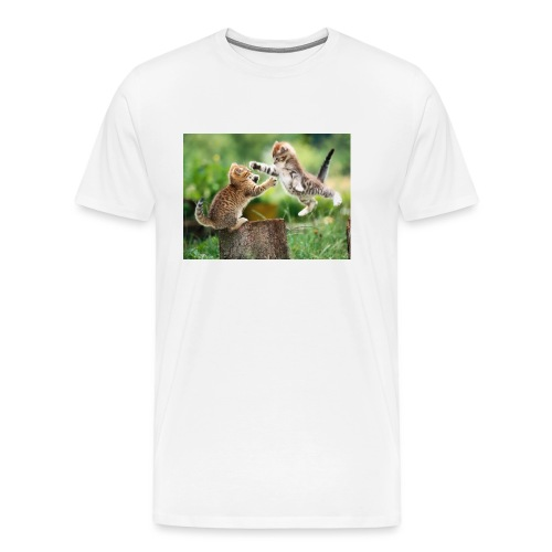 katt 1 - Premium-T-shirt herr