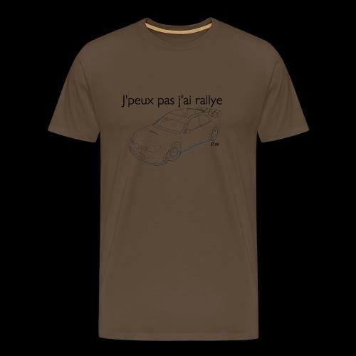J'peux pas j'ai rallye - T-shirt Premium Homme