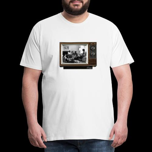 TV @ the TV - T-shirt Premium Homme