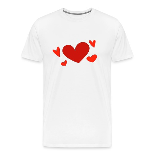 Five hearts - Men's Premium T-Shirt