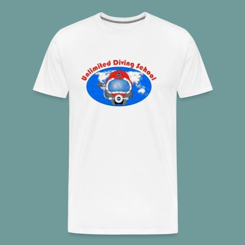 logo uds red - T-shirt Premium Homme