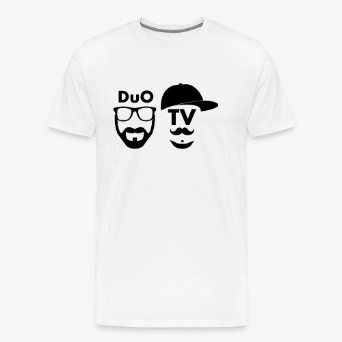 DuO TV Memes (black) - Männer Premium T-Shirt