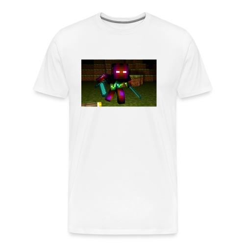 AwesomeSauce Minecraft 2 Swords - Men's Premium T-Shirt