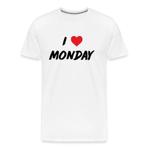 Monday - Maglietta Premium da uomo