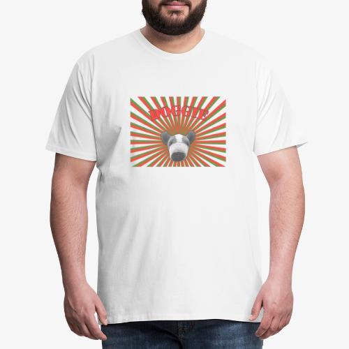 20110718 doggierays beschnitten 1layer - Männer Premium T-Shirt