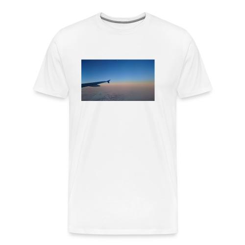 Sonnenaufgang überm Mittelmeer - Männer Premium T-Shirt