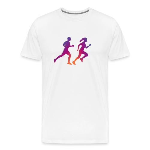 runner sport deporte correr influencer - Camiseta premium hombre