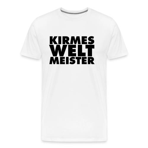 kirmes-welt-meister - Männer Premium T-Shirt