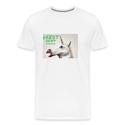 haest mot folkgrupp - Premium-T-shirt herr