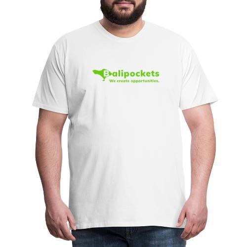 Balipockets Logo - Männer Premium T-Shirt