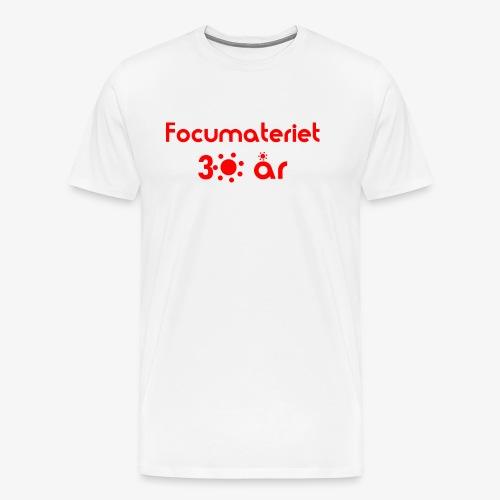 Focumateriet 30 år - Premium-T-shirt herr