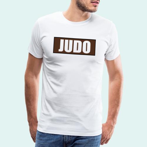 Judo Braun 1. Kyu - Männer Premium T-Shirt