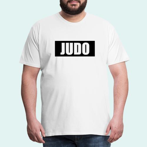 Judo Schwarz DAN - Männer Premium T-Shirt